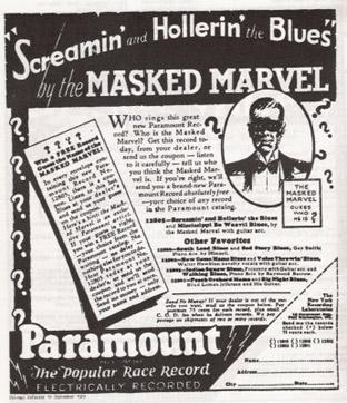 Masked Marvel Ad