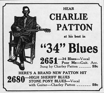 Charlie Patton - 34 Blues