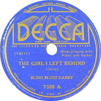 Teddy Darby: The Girl I Left Behind