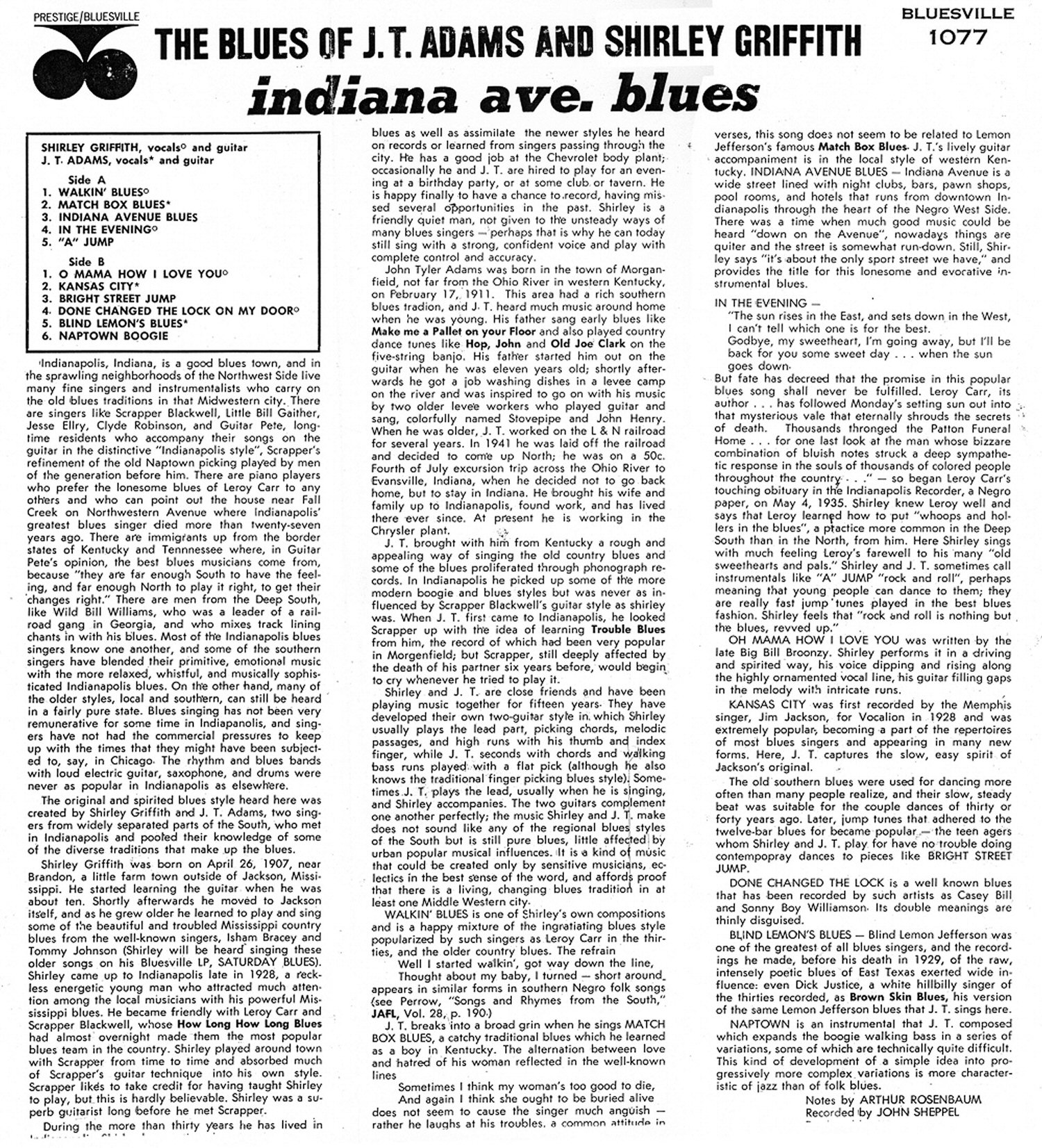 Indiana henry county shirley - Alec Seward Was Born In Charles City County Virginia And Relocated To New York In 1942 Where He Befriended Brownie Mcghee And Sonny Terry