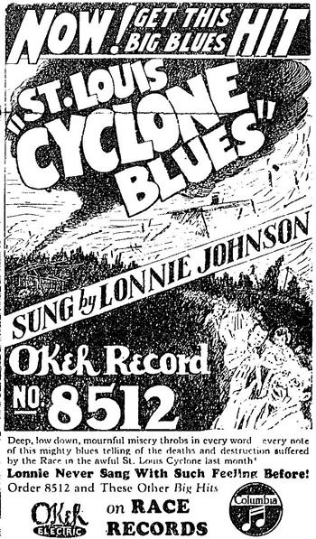 Lonnie Johnson: St. Louis Cyclone Blues