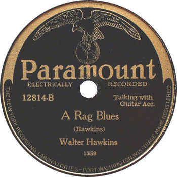 Buddy Boy Hawkins: A Rag Blues
