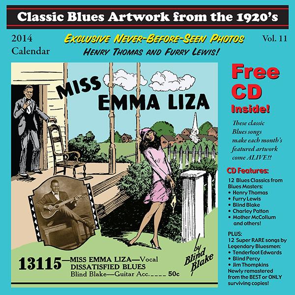 2014 Blues Calendar