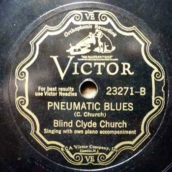 Blind Clyde Church: Pneumatic Blues