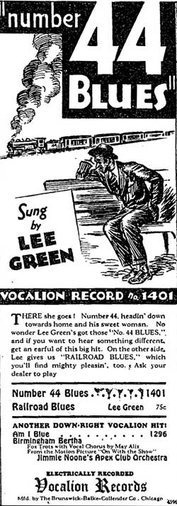 Lee Green: 44 Blues
