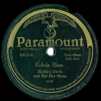 Madyln Davis: Kokola Blues