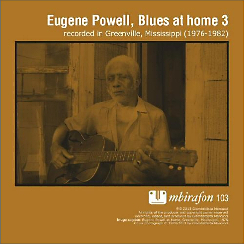 Eugene Powell: Blues At Home Vol. 3