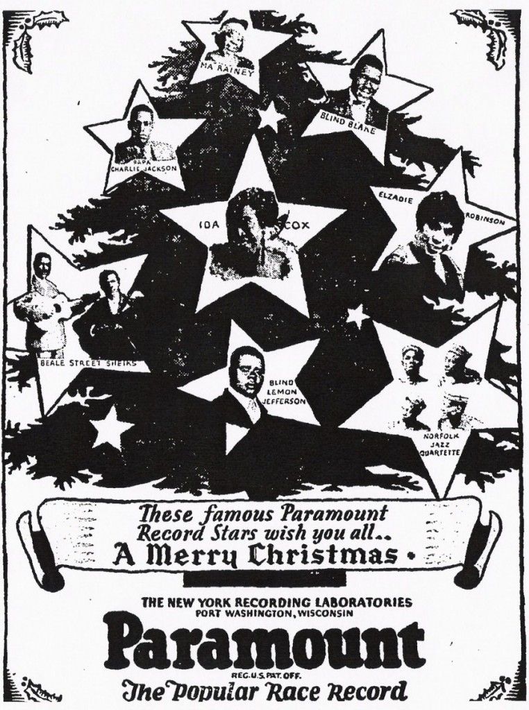 Paramount Christmas Greetings Ad