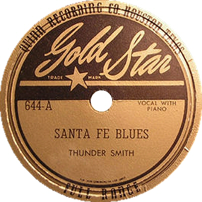 Thunder Smith: Santa Fe Blues