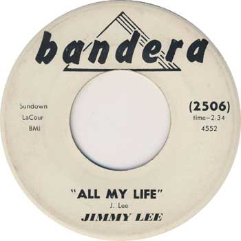 jimmy Lee Robinson: All My Life