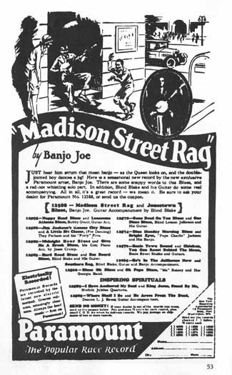 Madison Rag Ad