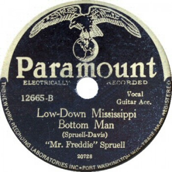 Low-Down Mississippi Bottom Man