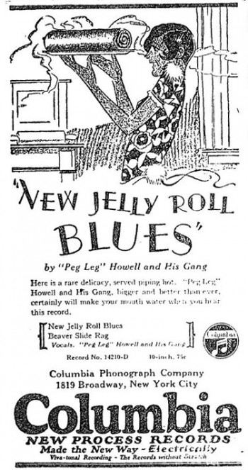 Peg Leg Howell - New Jelly Roll Blues